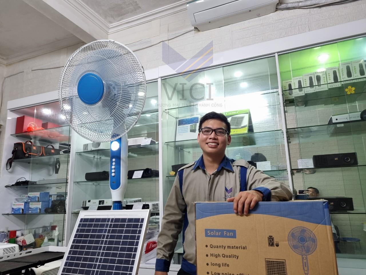 bán quạt năng lượng mặt trời rẻ